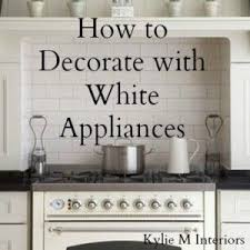 Painted Kitchen Cabinets White Kitchen Ideas Decorating With White Appliances Painted