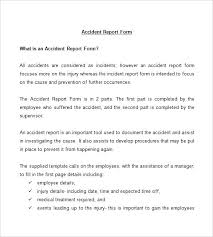 report form template report form templates incident report template