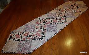 zig zag table runner miriam s sewing studio zig zag table runner