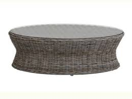 round wicker end table furniture round wicker coffee table awesome rattan coffee table