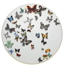 butterfly platter charger plate butterfly parade vista alegre
