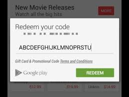 how to get free playstore redeem code youtube