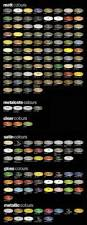 7 best auto paint color charts images on pinterest cars auto