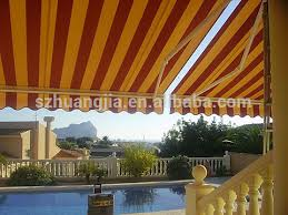 Motorized Awnings For Sale Steel Frame Electric Retractable Awnings For Home Balcony Cover