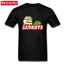 Meme Custom - 2017 fashion sad boys pepe t shirt meme shirt men novelty custom