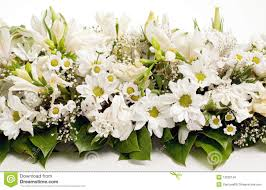 white table flower decoration royalty free stock photo image