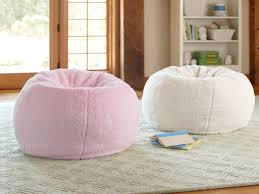 furniture appealing interior chair design with blue bean bag