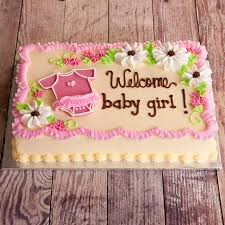baby shower cake ideas for girl inspiring baby girl shower sheet cakes 25 for baby shower