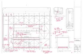 Kitchen Cabinet Construction Details by Kitchen Cabinet Details Drawing Monsterlune