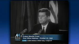 president kennedy u0027s cuban missile crisis oval office address oct