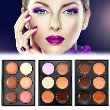 Color Concealer Online Buy Wholesale 6 Color Concealer Palette From China 6 Color