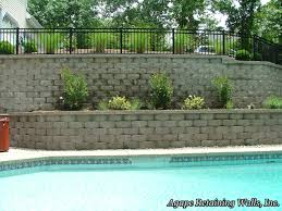 Retaining Wall Design Ideas by Agape Retaining Walls Inc Terrace Photo Album 4