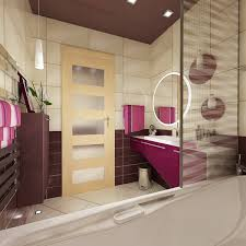 Modern Apartment Bathroom - bright modern apartment with large bedroom for young couples