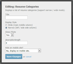 Photo On Resume Yes Or No Radcodes Web Development For Socialengine Plugins