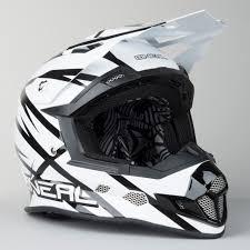 oneal motocross helmet o u0027neal 2 series evo thunderstruck motocross helmet white black