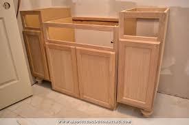 Used Bathroom Vanity Cabinets Furniture Style Bathroom Vanity Made From Stock Cabinets