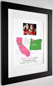 friendship quote photo frame best friend gift ideas friendship quote custom moving away