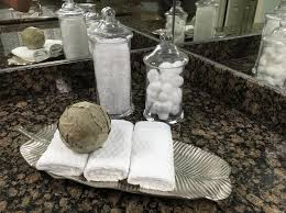 bathroom apothecary jar ideas 20 best home staging vignettes images on vignettes