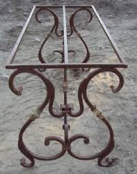 wrought iron pedestal table base 108 best wrought iron tables images on pinterest wrought iron