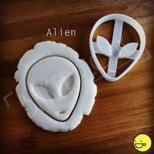 Ufo Upholstery Alien And Ufo Cookie Cutters Biscuit Dough Cutter Spaceship