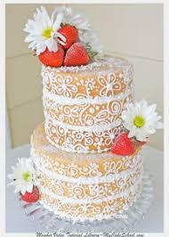 i love the idea and pattern for this hawaiian cake luau cakes