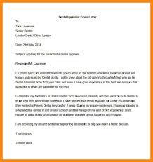 cover letter for dental hygienist beautiful cover letter for