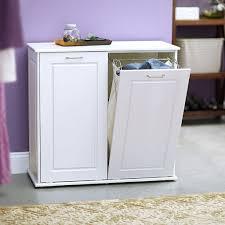 laundry hamper furniture linen closet with laundry hamper white cabinet vanity tilt out