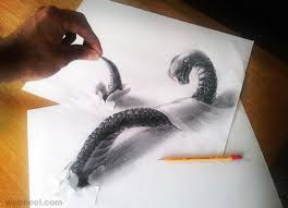 60 beautiful 3d pencil drawings and 3d art works part 2