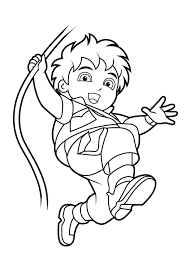 diego coloring pages 21721
