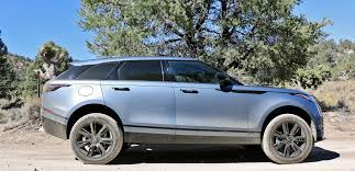 land rover velar blue 2018 land rover range rover velar test drive review autonation