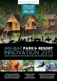 holiday park innovation expo 2015 show guide by prysm group issuu