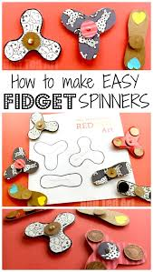 Instructions On How To Make A Toy Box by Easy Fidget Spinner Diy Free Template Science Fair Project