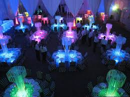 glow in the decorations decorations glow in the party wedding reception topup