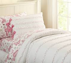 ruffle dot duvet cover pottery barn kids