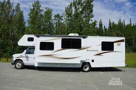 Alaska travel trailers images 31k premium 31kp photo tour great alaskan holidays rv rental jpg