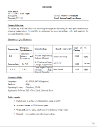 Best Engineering Resume Template by Resume Format Pdf Resume Format For Job Application Examples 2017