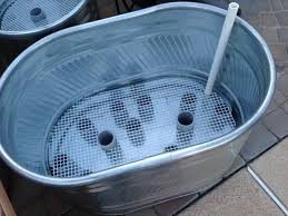 Self Watering Patio Planters by Gardening In Galvanized Troughs Be Able To Finish The Second