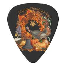 thanksgiving guitar picks accessories zazzle