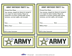 free printable invitations army birthday invitations u2013 gangcraft net
