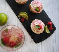 raspberry mojito recipe sharkett sisters cocktail cupcakes raspberry mojito