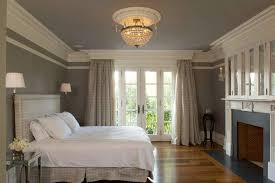 Curtain Crown Molding Crown Molding Bedroom Traditional With Glass Cabinets Patterned