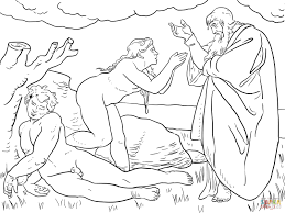 the creation of eve coloring page free printable coloring pages