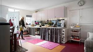 cozy home interiors inviting and colorful kitchen for one