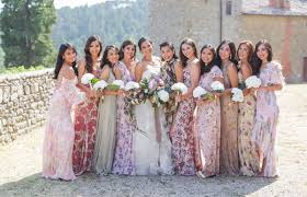 floral print bridesmaid dress floral bridesmaid dresses are the wedding trend that will grow on