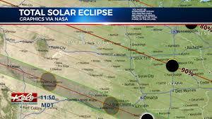 South Dakota County Map Eclipse 2017 South Dakota Sw Minnesota And Nw Iowa Keloland Tv