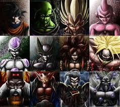 detailed drawings dbz characters dragonball