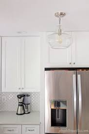 Small White Kitchens Our Small White Kitchen Clean And Classic