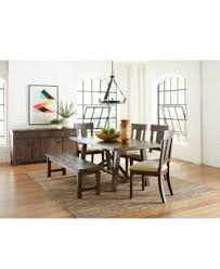 7 pc dining room set ember 7 dining room furniture set created for macy s