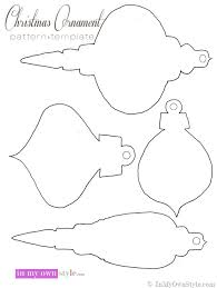 ornament templates to print tree challenge semi