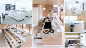 Contemporary Kitchen Design by Highly Organized Contemporary Kitchen Designs Bending To The Needs
